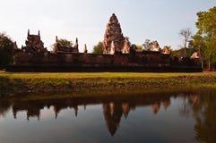 Castle rocks at SraKaew Province in Thailand. One of Taravathi styles - StokDokTom -Castle rocks at SraKaew Province in Thailand Stock Photo