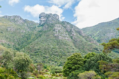 Castle Rocks on Table Mountain Royalty Free Stock Photography