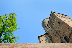 Castle of Roddi Royalty Free Stock Photo