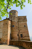 Castle of Roddi Royalty Free Stock Images