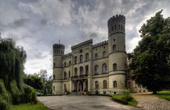 Castle in Rokosowo Royalty Free Stock Image