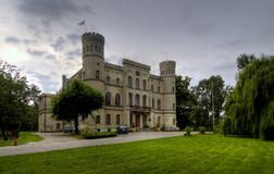 Castle in Rokosowo Stock Photography