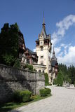 Castle in Romania. The king's castle in Romania Royalty Free Stock Photography