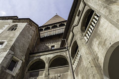 Castle in Romania Stock Images