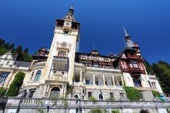 Castle in Romania Stock Image
