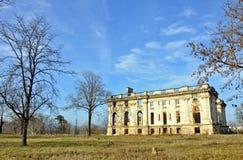 castle romania ruins trianon Στοκ φωτογραφίες με δικαίωμα ελεύθερης χρήσης