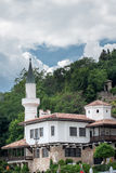The castle of Romanian queen by the black sea in Balchik, Bulgaria Stock Images