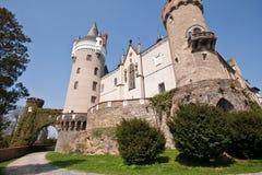 castle romantic springtime Στοκ εικόνες με δικαίωμα ελεύθερης χρήσης