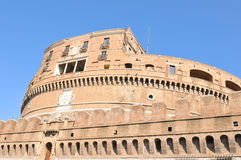 Castle in Rome, Italy stock image