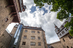 Castle romrod hessen germany Royalty Free Stock Images