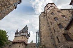 Castle romrod hessen germany Royalty Free Stock Photography
