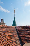 Castle roof Royalty Free Stock Photos