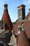 Castle roof top Stock Photography