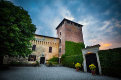 Castle of roppolo Royalty Free Stock Photo