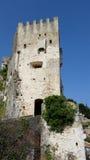 Castle of Roquebrune-Cap-Martin Stock Photography