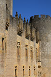 Castle of Roquetaillade Stock Image