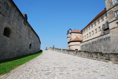 Castle rosenberg kronach Royalty Free Stock Image