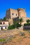 Castle of Roseto Capo Spulico. Calabria. Italy. Royalty Free Stock Photos
