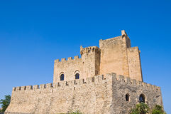 Castle of Roseto Capo Spulico. Calabria. Italy. Stock Photography