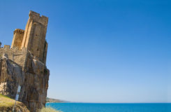 Castle of Roseto Capo Spulico. Calabria. Italy. Royalty Free Stock Image