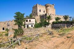 Castle of Roseto Capo Spulico. Calabria. Italy. Stock Photo
