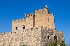 Castle of Roseto Capo Spulico. Calabria. Italy. Stock Photos