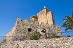 Castle of Roseto Capo Spulico. Calabria. Italy. Stock Image