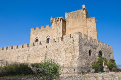 Castle of Roseto Capo Spulico. Calabria. Italy. Stock Photography