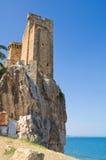Castle of Roseto Capo Spulico. Calabria. Italy. Stock Images