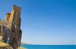 Castle of Roseto Capo Spulico. Calabria. Italy. Royalty Free Stock Image