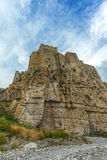 Castle of roseto on the rocks Stock Photos