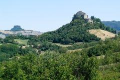 Castle Rossena on Emilia Romagna Stock Image