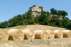 Castle Rossena on Emilia Romagna Royalty Free Stock Photo