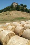 Castle Rossena on Emilia Romania Stock Images