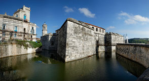 Castle of the Royal Force, Havana, Cuba Royalty Free Stock Image