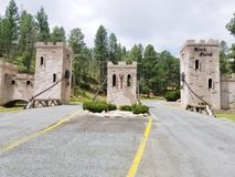 Castle in Ruidoso New Mexico Royalty Free Stock Images