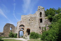 Castle ruin. Of Staufen (Breisgau, Germany Stock Photos