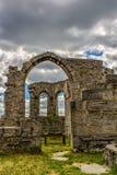 Castle Ruin Altenstein Stock Photo