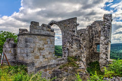 Castle Ruin Altenstein Stock Images