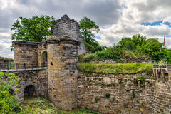 Castle Ruin Altenstein Stock Photos