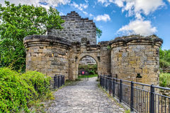 Castle Ruin Altenstein Stock Image