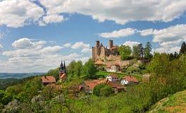 Castle ruin - ancient castle Stock Image