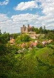 Castle ruin - ancient castle Stock Images