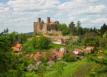 Castle ruin - ancient castle Royalty Free Stock Photography