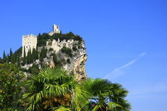 Castle ruin of Arco, Italy Stock Photography