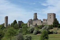 Castle ruin Brandenburg Thuringia Royalty Free Stock Photos