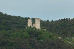 Castle ruin Brandenburg Thuringia Stock Images