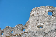 Castle ruin Ehrenberg detail Stock Photography