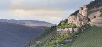 castle ruin ehrenfels bingen germany Stock Photo