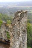 Castle ruin Finkenstein. In Carinthia, Austria Royalty Free Stock Photo